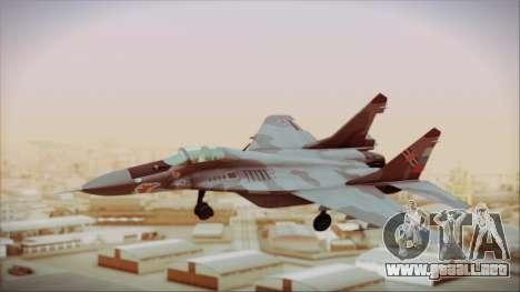 Mikoyan-Gurevich MIG-29A Russian Air Force para GTA San Andreas