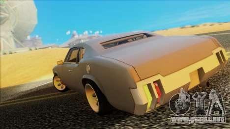 Sabre Race Edition para GTA San Andreas left