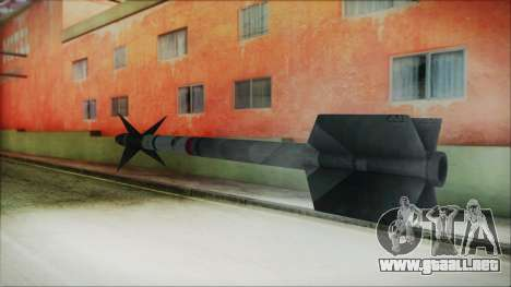 AIM9 Missile para GTA San Andreas segunda pantalla