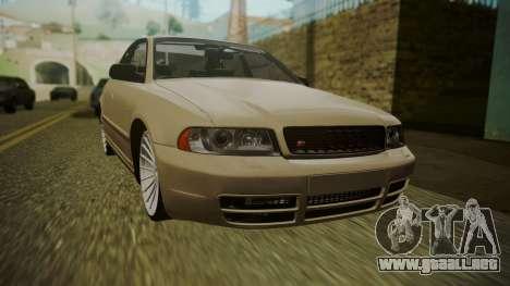 Audi S4 para GTA San Andreas