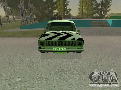 GAS 24 BQ para GTA San Andreas left