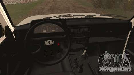 VAZ 2329 Niva 4x4 para la visión correcta GTA San Andreas