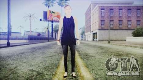Home Girl Lupita para GTA San Andreas segunda pantalla