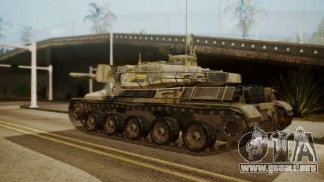 AMX 30 from Mercenaries 2 World in Flames para GTA San Andreas left