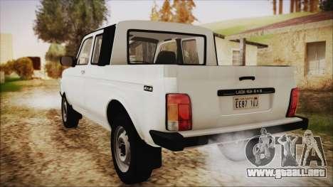 VAZ 2329 Niva 4x4 para GTA San Andreas left