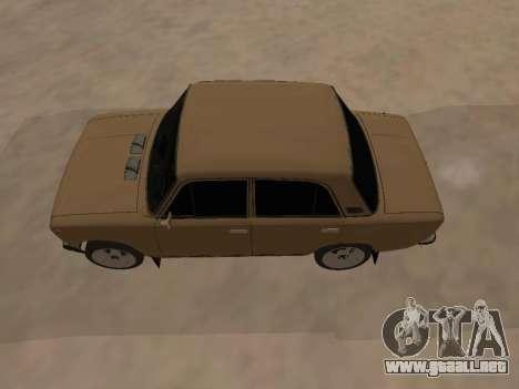 Vaz 2101 V1 para la visión correcta GTA San Andreas