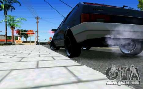 VAZ 2108 V1 para la visión correcta GTA San Andreas