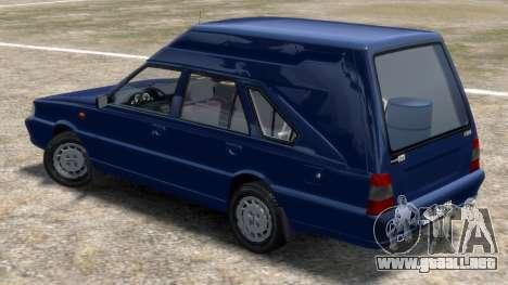Daewoo-FSO Polonez Cargo Van Plus 1999 para GTA 4 Vista posterior izquierda