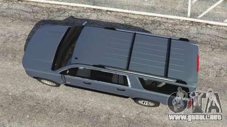 GTA 5 Chevrolet Suburban 2015 [unlocked] vista trasera