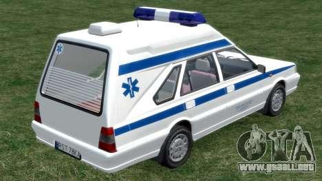 Daewoo-FSO Polonez de Carga de Ambulancias de 19 para GTA 4 visión correcta