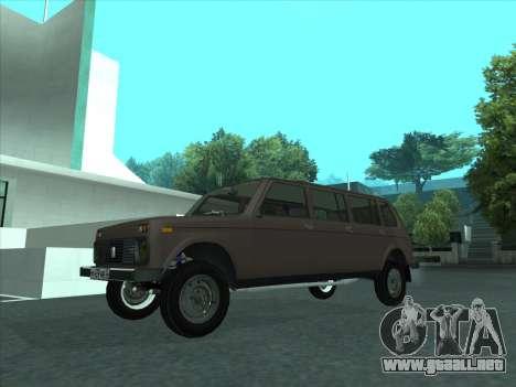 VAZ 2131 Samudera para visión interna GTA San Andreas