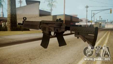 SIG-556 Patrol Rifle White para GTA San Andreas tercera pantalla