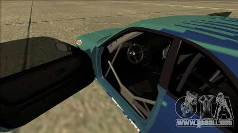 Nissan Skyline R33 Drift Falken para visión interna GTA San Andreas
