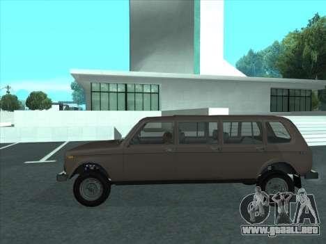 VAZ 2131 Samudera para GTA San Andreas left