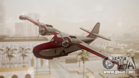 Grumman G-21 Goose N121GL para GTA San Andreas
