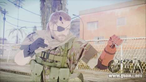MGSV Phantom Pain Snake Scarf Woodland para GTA San Andreas