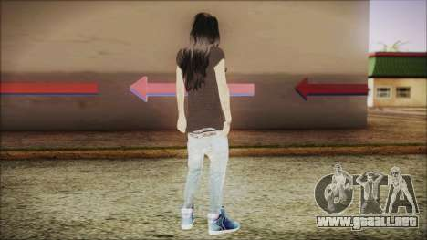 Home Girl SWAG para GTA San Andreas tercera pantalla