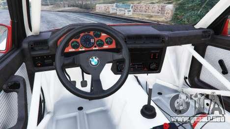 GTA 5 BMW M3 (E30) 1991 [Suei] v1.2 vista lateral derecha