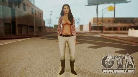 Megan Fox para GTA San Andreas segunda pantalla