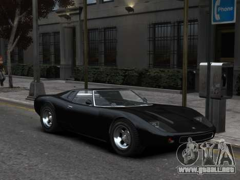 GTA 5 Monore Imporeved para GTA 4 Vista posterior izquierda