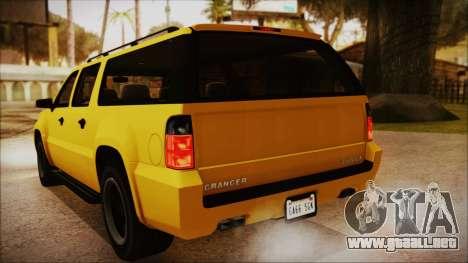 GTA 5 Declasse Granger IVF para visión interna GTA San Andreas