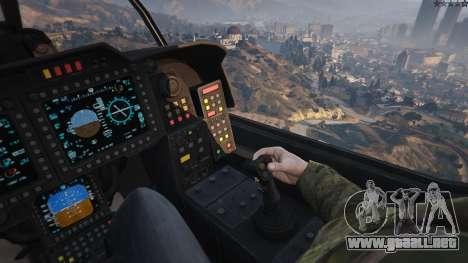 GTA 5 AH-1Z Viper sexta captura de pantalla