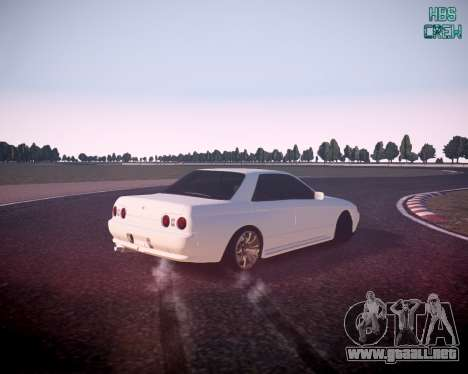 Nissan Skyline ER32 para GTA 4 left