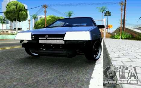VAZ 2108 V1 para visión interna GTA San Andreas