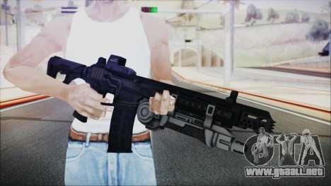 SOWSAR-17 Type G Assault Rifle with Grenade para GTA San Andreas tercera pantalla