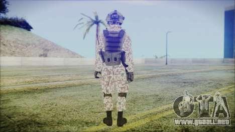 Bundeswehr Desert v2 para GTA San Andreas tercera pantalla