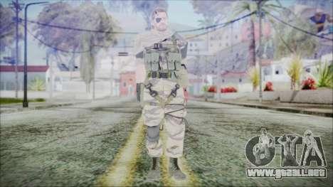 MGSV Phantom Pain Snake Scarf Tiger para GTA San Andreas segunda pantalla