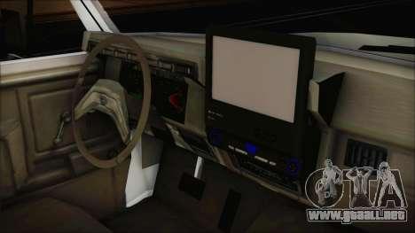 Ford F-150 Con Sonido para la visión correcta GTA San Andreas