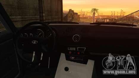 Bully VAZ 2106 Azeri Estilo para la visión correcta GTA San Andreas