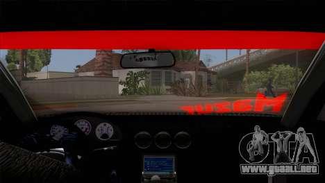 Nissan S15 Drift para visión interna GTA San Andreas