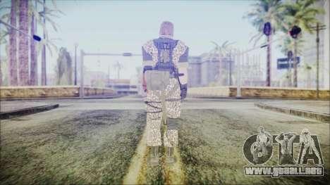 MGSV Phantom Pain Snake Normal Wetwork para GTA San Andreas tercera pantalla