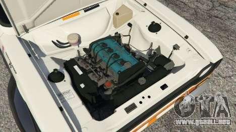 GTA 5 Ford Escort MK1 v1.1 [Carrillo] vista lateral trasera derecha
