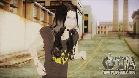 Home Girl SWAG para GTA San Andreas