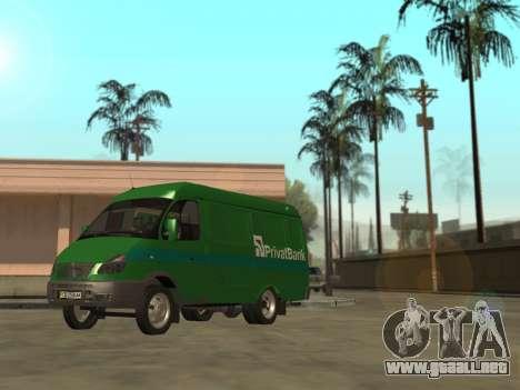 GAZelle 2705 Privat v2 para GTA San Andreas left