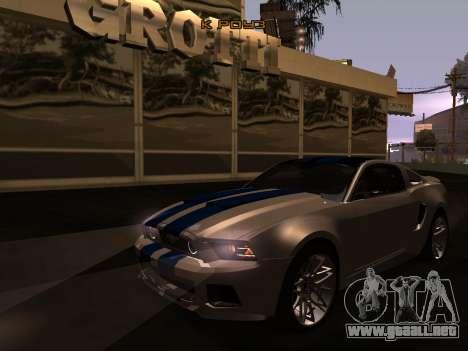 ENB Series [MEDIUM PC] para GTA San Andreas segunda pantalla