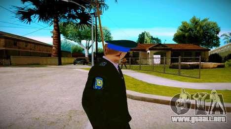 El empleado del Ministerio de Justicia v1 para GTA San Andreas tercera pantalla
