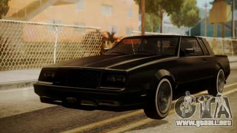 GTA 5 Faction Stock DLC LowRider para GTA San Andreas left