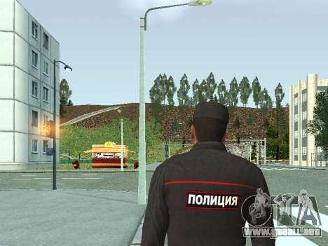 El Sargento de PPS en la forma de la nueva muest para GTA San Andreas segunda pantalla