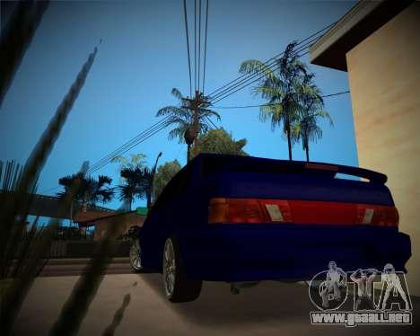 VAZ-2115 para la visión correcta GTA San Andreas