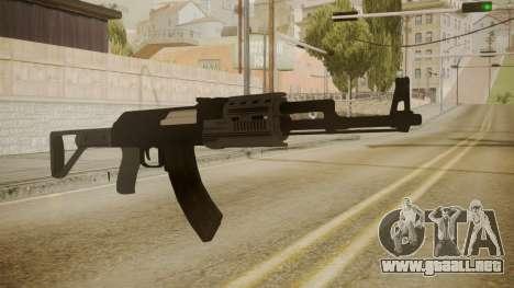 GTA 5 AK-47 para GTA San Andreas segunda pantalla