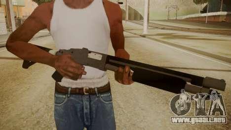 GTA 5 Shotgun para GTA San Andreas tercera pantalla