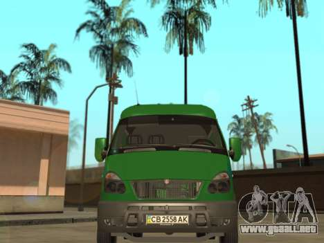 GAZelle 2705 Privat v2 para la visión correcta GTA San Andreas