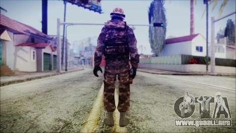 Chinese Army Desert Camo 2 para GTA San Andreas tercera pantalla