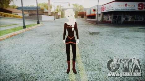Elsa Black Outfit para GTA San Andreas segunda pantalla