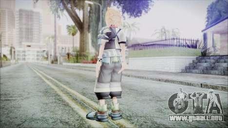 Kingdom Hearts Birth By Sleep - Ventus para GTA San Andreas tercera pantalla