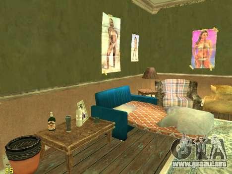 Apartamento de GTA IV para GTA San Andreas sucesivamente de pantalla